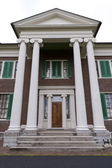 Front entry of mansion in Waveland State Historic Site . Lexing — Stockfoto