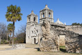 Historic Mission Concepcion in San Antonio, Texas — Stock Photo