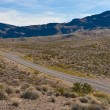 Stock Photo: A road in the desert of Nevada