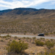 A road in the desert of Nevada — Stock Photo #8487831