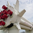 Rocket  at NASA Kennedy Space Center - Stock Photo