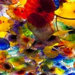 Постер, плакат: Artwork of Glass Flowers by Dale Chihuly in Bellagio Hotel Casin