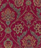 Textura de tecido ornamental — Fotografia Stock
