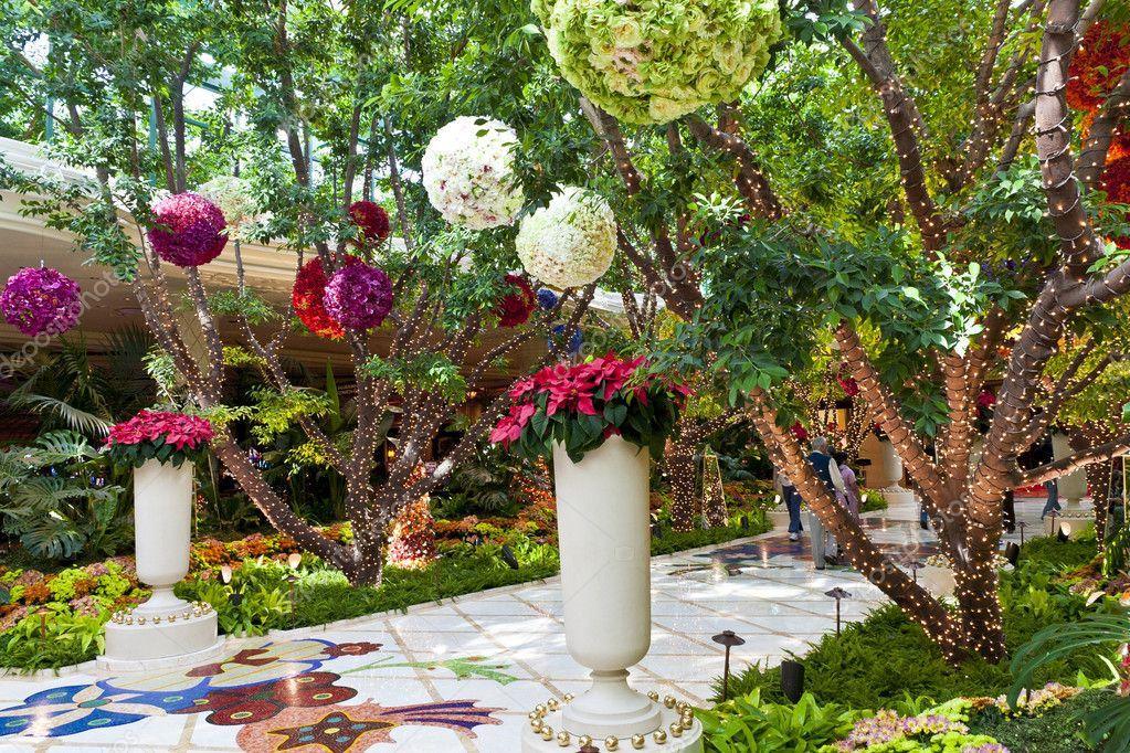 Botanical Gardens In Wynn Las Vegas Resort And Casino