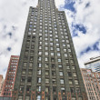 Carbide &amp; Carbon Building, a landmark of Chicago - Stock Photo