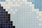 Кафельные стены — Стоковое фото