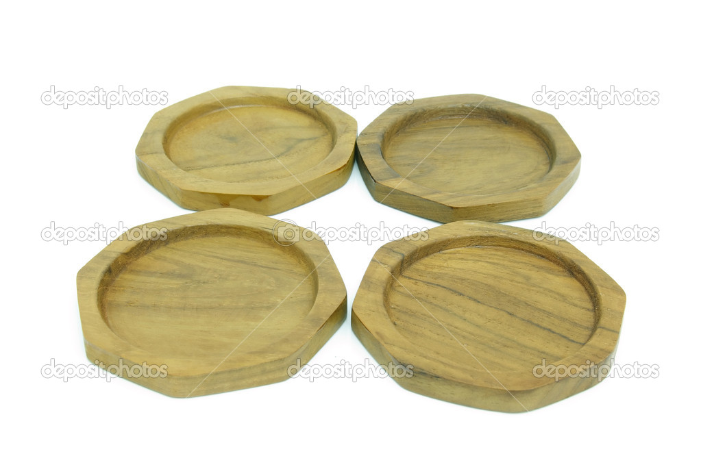 Wooden coasters for glass  Stock Photo #10044370