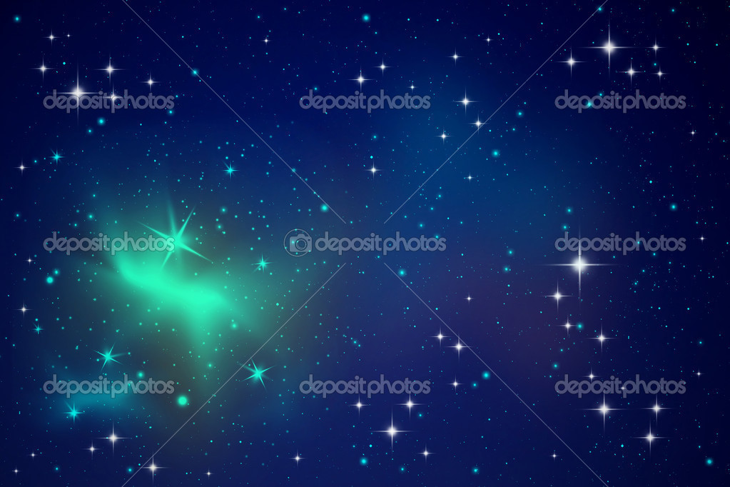 Lighting stars in the night sky — Stock Photo #10045121