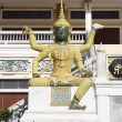 Stock Photo: Giant statue in Thai literature , Thai temple