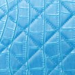 Royalty-Free Stock Photo: Texture blue leather bag