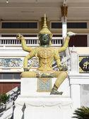 Riesigen statue in der thailändischen literatur, thai-tempel — Stockfoto