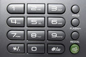 Telephone Keypad , business background — Stock Photo