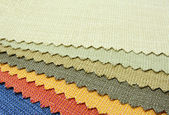 Color tone texture of fabric sample — Foto Stock