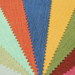 Multicolor tone of fabric texture sample — Stockfoto