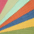Multicolor tone of fabric texture sample — Stock Photo