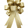 Gift ribbon and bow Isolated on white background — Stock Photo #10330236
