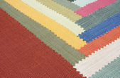 Multi color fabric texture samples — ストック写真