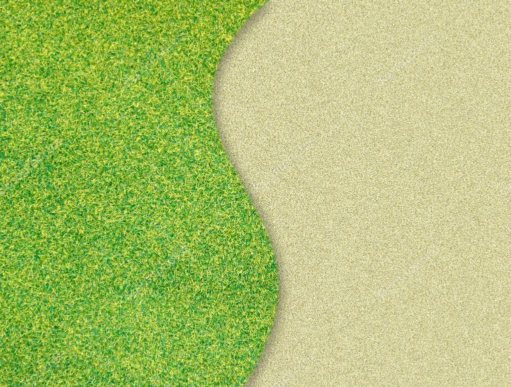 Green Grass Background Images Green Grass Curve on Sand