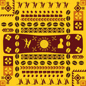 African traditional design — Stock Photo