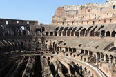 Interior view of roman colosseum — Stock Photo