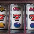 Jackpot three seven — Foto Stock