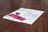 Forwarded envelope — Stock Photo
