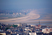 Overview of Deauville and Trouville in Calvados, France — Stock Photo