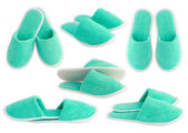 Slippers isolated on white background — Stockfoto
