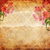 Grunge abstracte achtergrond met behang — Stockfoto