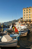 The beautiful village of Camogli,near Genoa,Italy — Stock Photo
