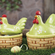Objects for Easter,a still life — Stock Photo #9115041