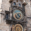 The astronomical clock in Prague, Czech republic in the Old Tow — Stock Photo