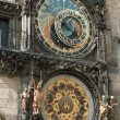 The astronomical clock in Prague, Czech republic in the Old Tow — Stock Photo #9211847