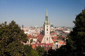 Bratislava,the capital of Slovakia — Stock Photo