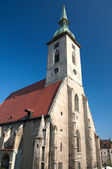 Bratislava,the capital of Slovakia St. Martin's Cathedral — Stock Photo