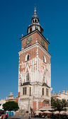 Krakow,Poland,town hall tower — Stock Photo