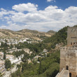 Granada,Spain,the Alhambra — Stock Photo