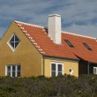 Denmark colored houses — Stock Photo