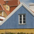 Denmark colored houses — Stock Photo