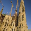 The Sagrada Familia,the basilica of Gaudì — Stock Photo