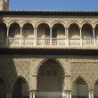The Alcazar,arabic architecture in Sevilla, Spain - Stock Photo