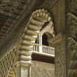 The Alcazar,arabic architecture in Sevilla, Spain - Foto Stock