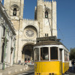 Portugal,Lisboa,a trolley car - Foto Stock