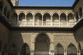 The Alcazar,arabic architecture in Sevilla, Spain — Stock Photo
