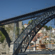 The old city of Oporto, on Douro river,Portugal,Europe — Stock Photo #9816814