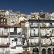 The old city of Oporto, on Douro river,Portugal,Europe — Stock Photo