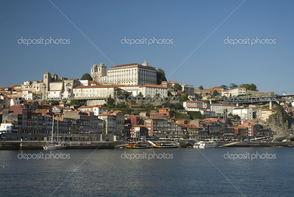The old city of Oporto,Portugal,Europe — Stock Photo #9817208