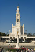 Famous place in Portugal,Fatima, a religious place — Stock Photo