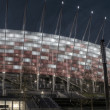National stadium in Warsaw - Stock Photo