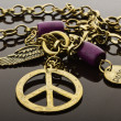 Peace jewelry — Stock Photo